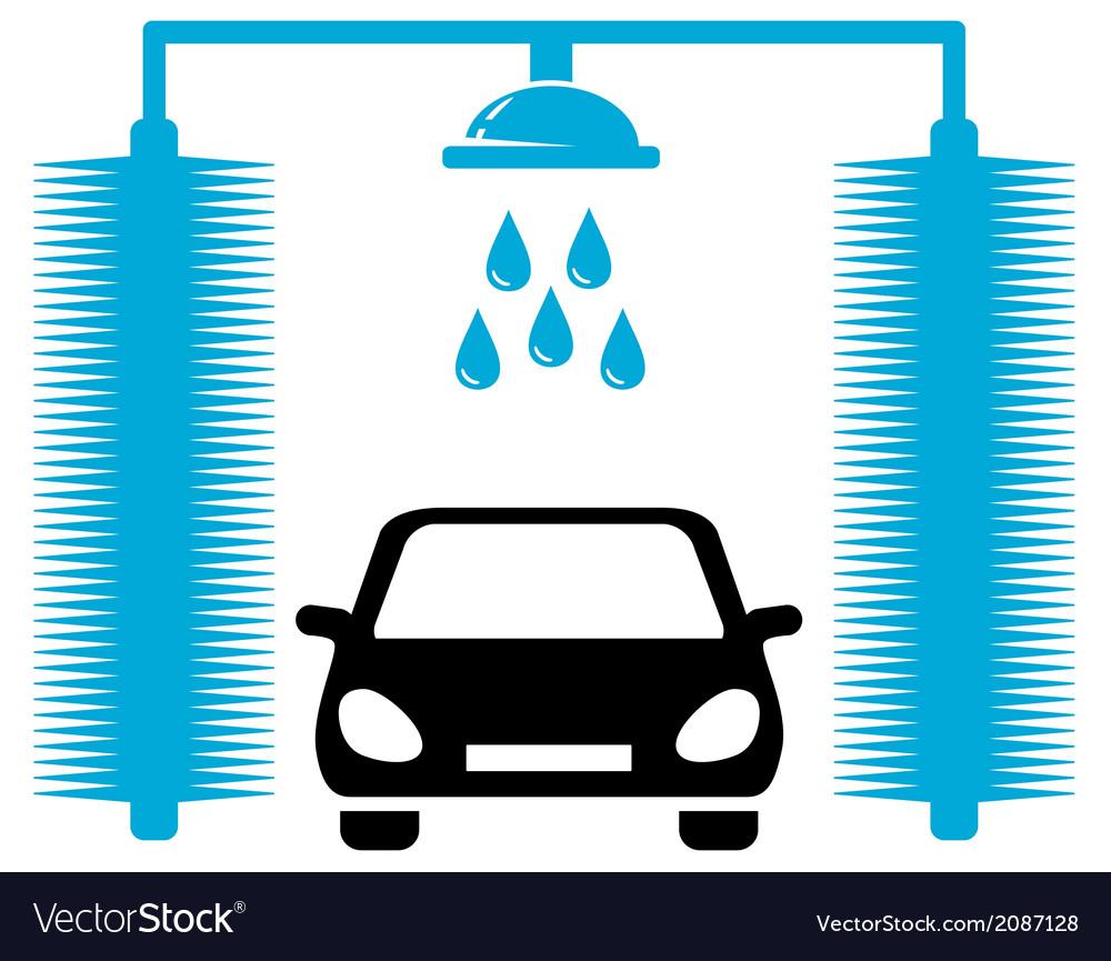 Car wash icon vector | Price: 1 Credit (USD $1)