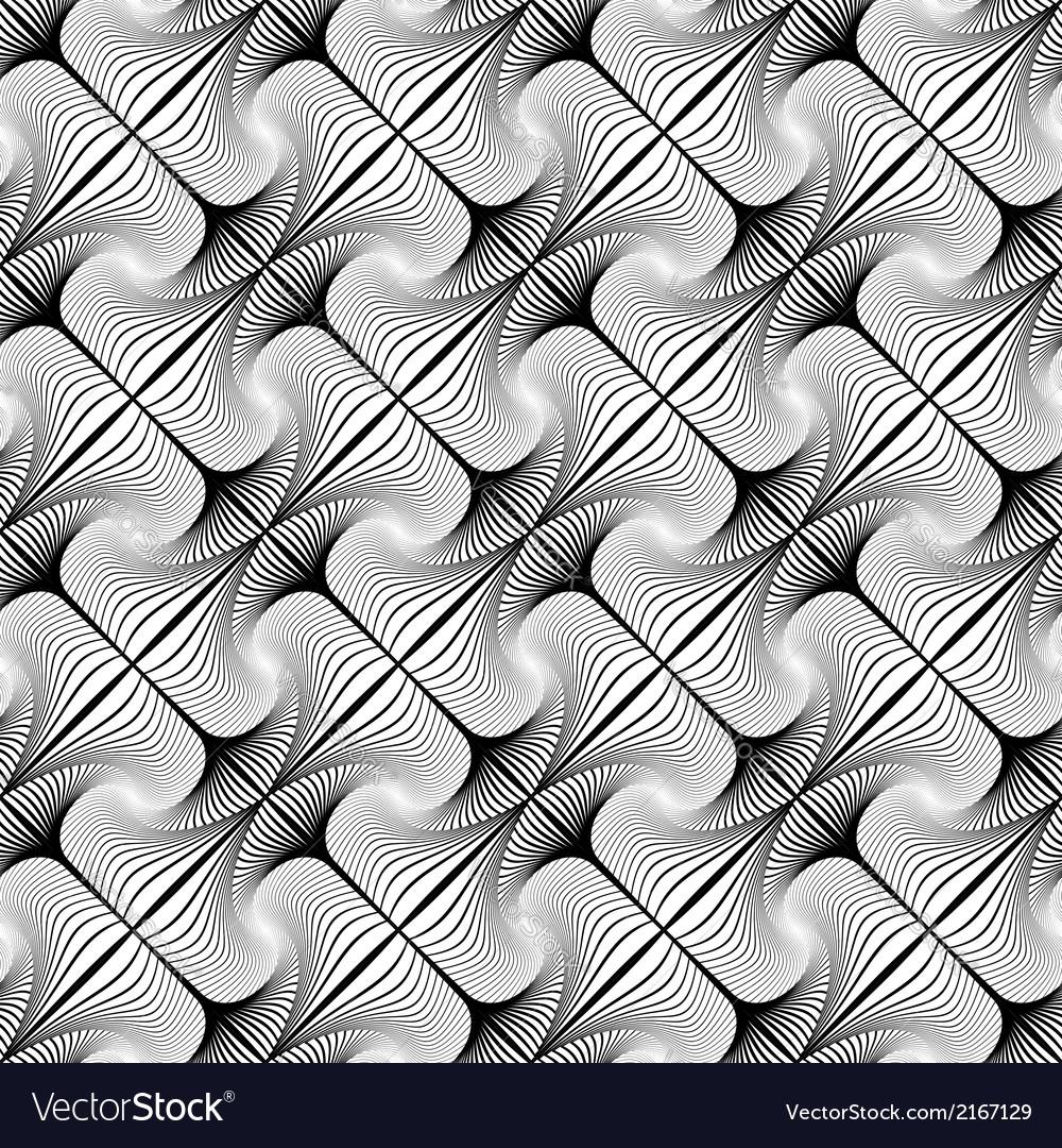 Design seamless decorative diagonal pattern vector | Price: 1 Credit (USD $1)