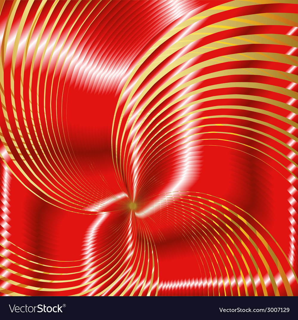 Red spiral vector | Price: 1 Credit (USD $1)