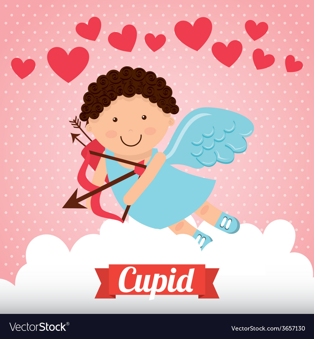 Cupid cute vector | Price: 1 Credit (USD $1)