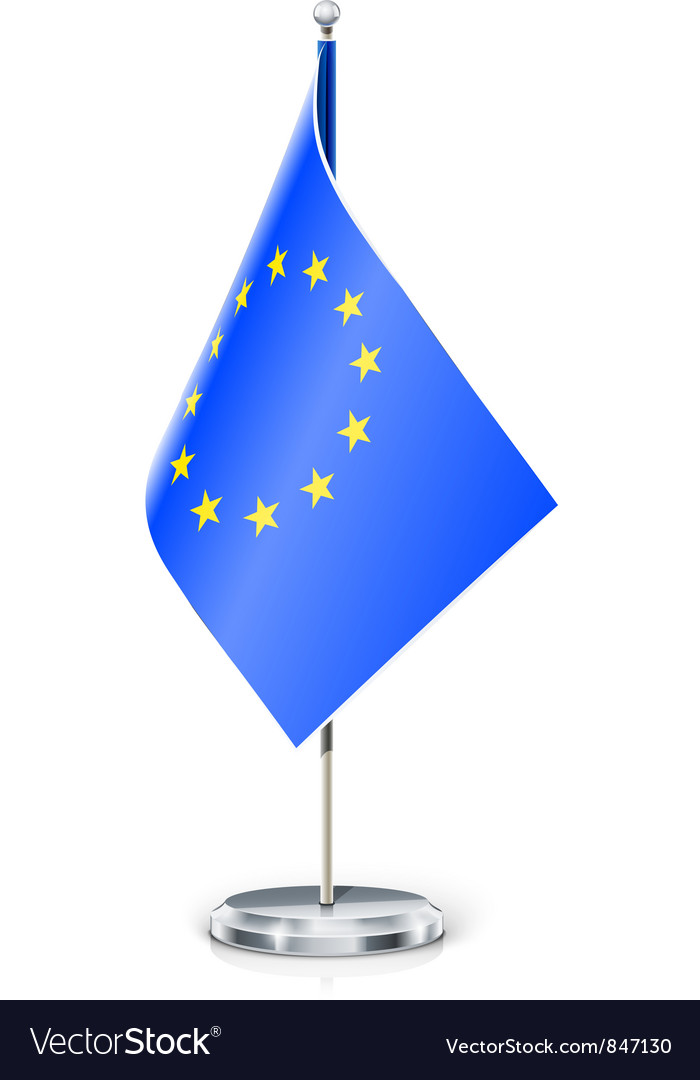 European unions flag vector | Price: 3 Credit (USD $3)