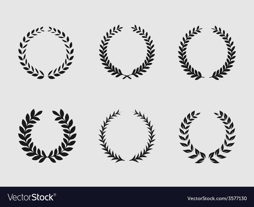 Heraldic ornament on white background vector | Price: 1 Credit (USD $1)