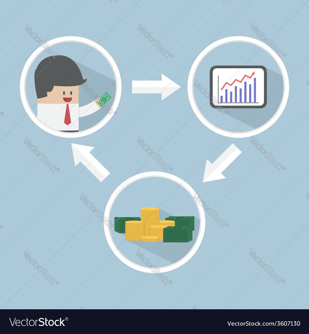 Stock market investment financial concept vector   Price: 1 Credit (USD $1)