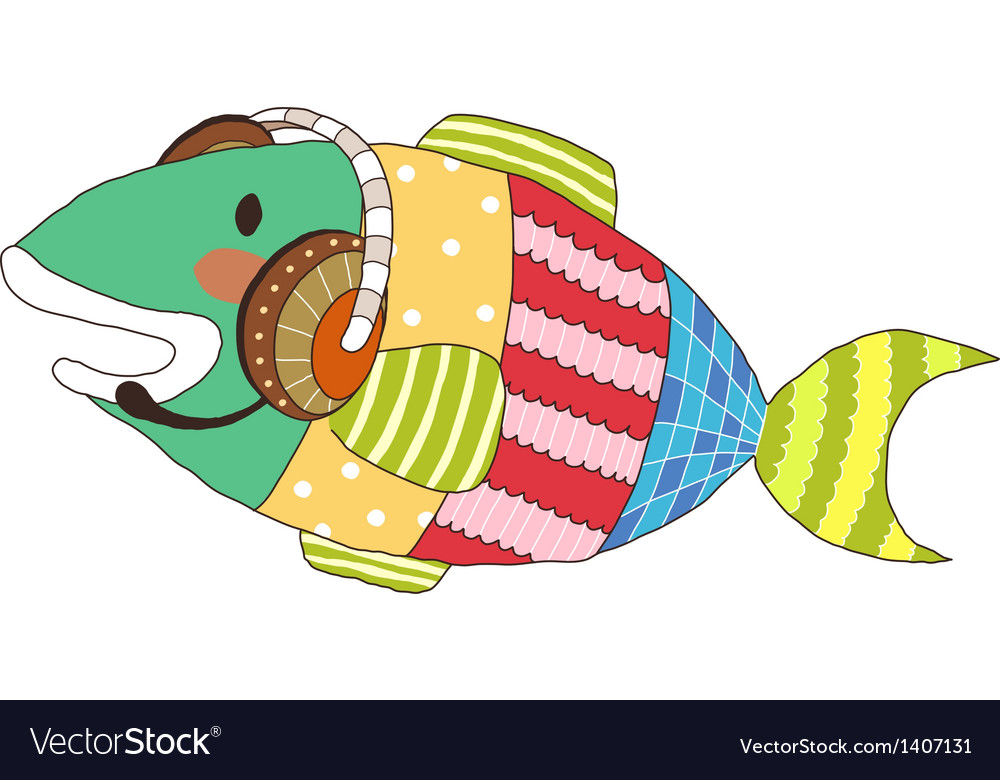A view of fish vector   Price: 1 Credit (USD $1)