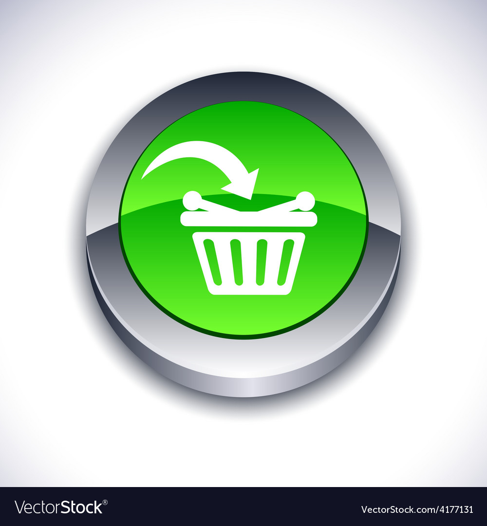 Buy 3d button vector | Price: 1 Credit (USD $1)