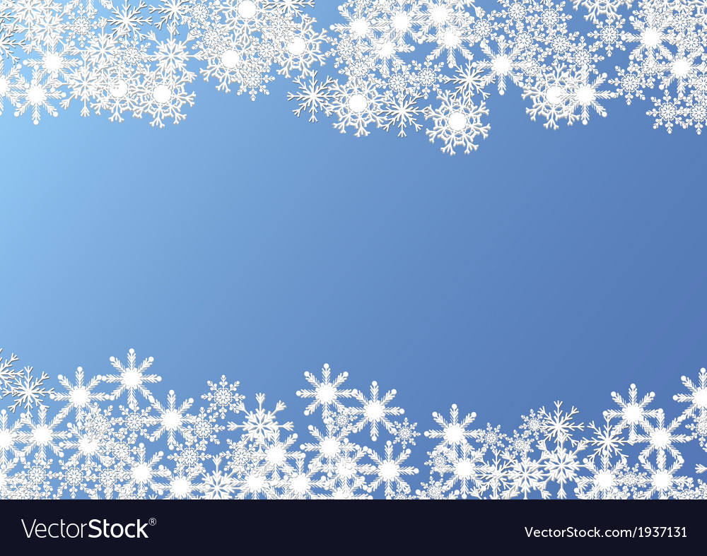 Christmas background on blue vector | Price: 1 Credit (USD $1)