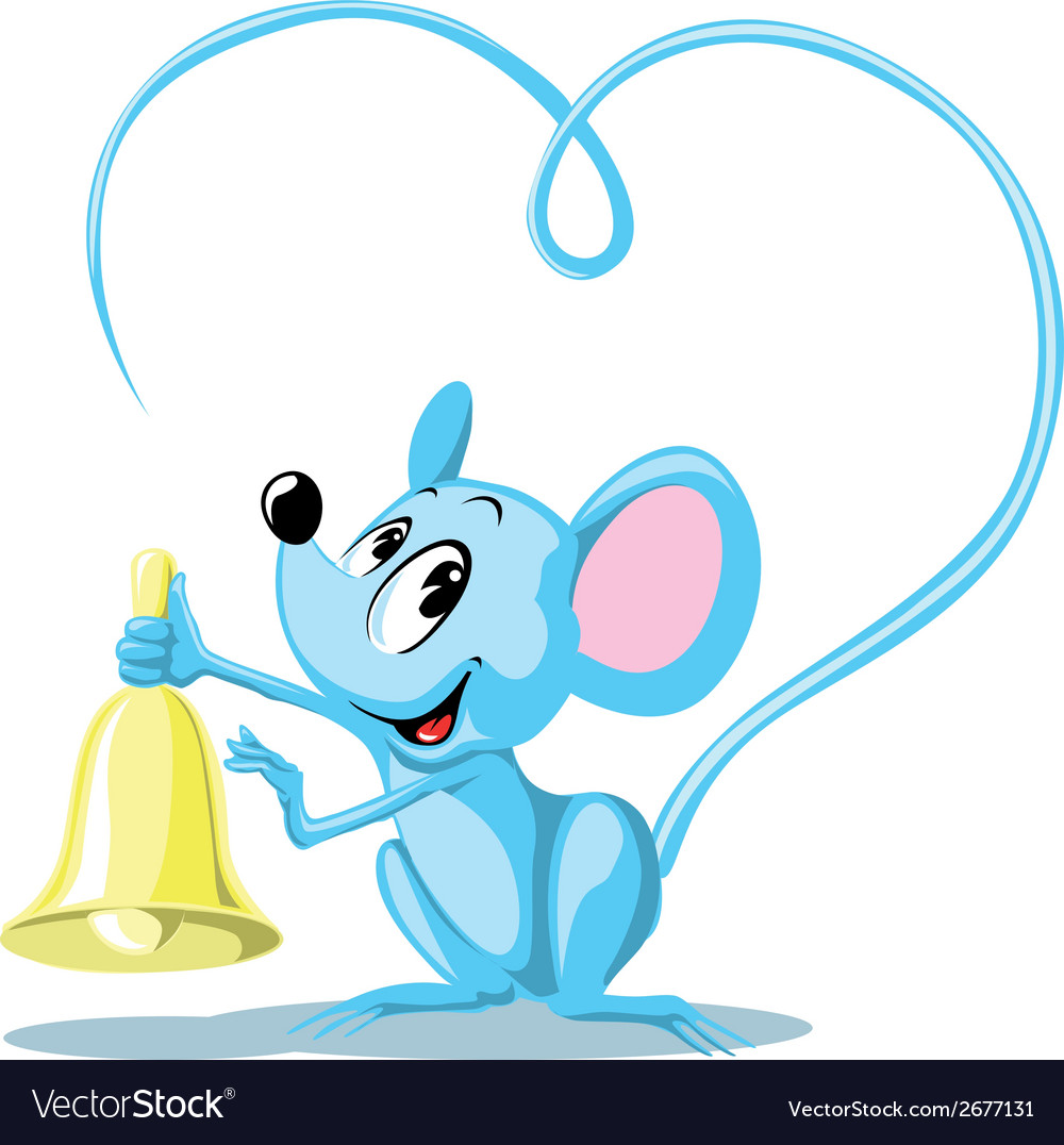 Ringing mouse vector | Price: 1 Credit (USD $1)