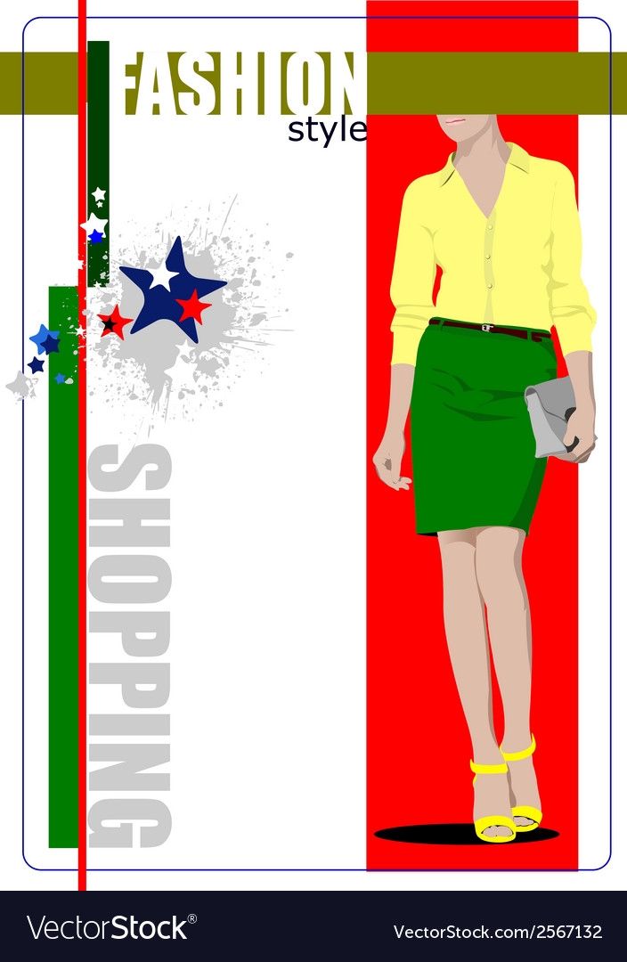 Al 0412 shopping 02 vector | Price: 1 Credit (USD $1)