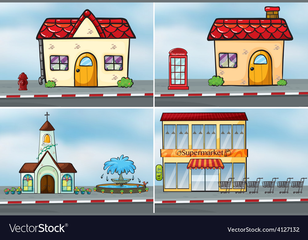 Shops vector | Price: 3 Credit (USD $3)