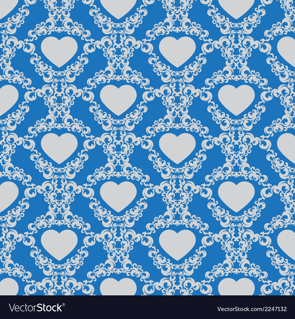 Vintage background with hearts vector | Price: 1 Credit (USD $1)