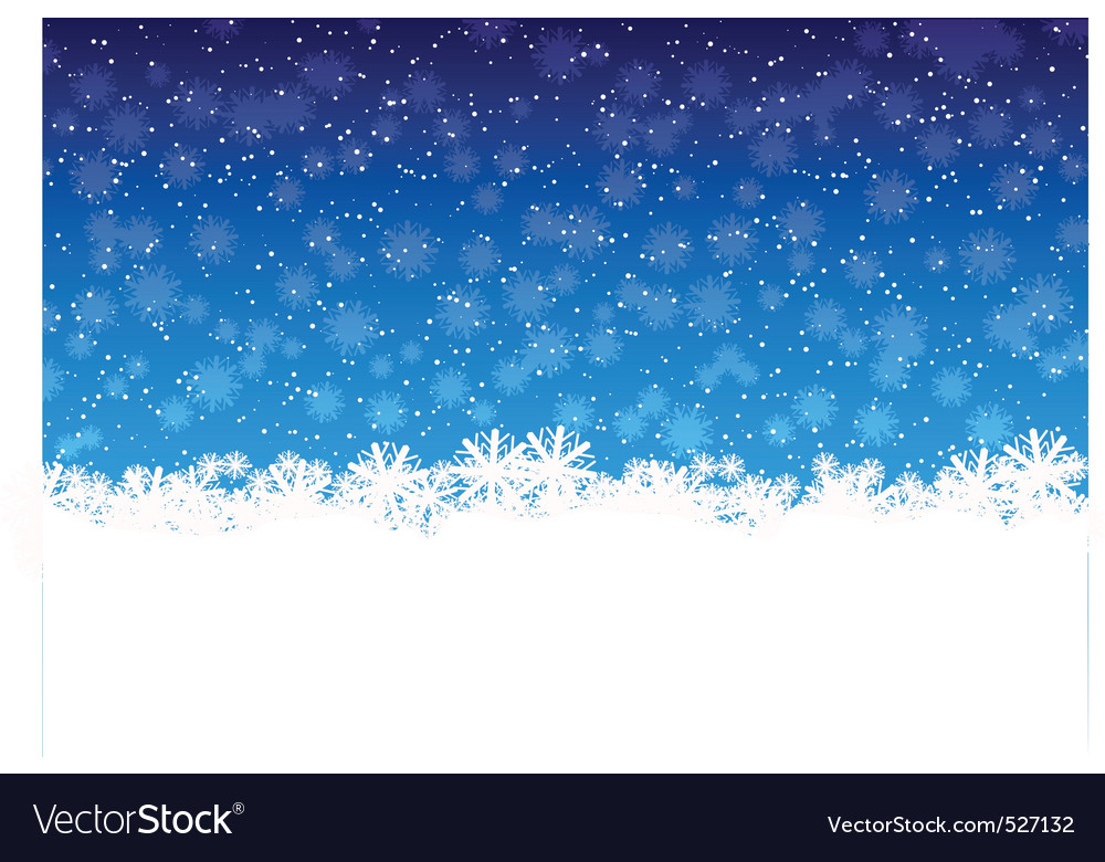 Winter snowflakes vector | Price: 1 Credit (USD $1)