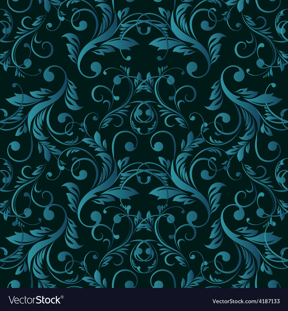 Abstract vintage seamless damask pattern vector | Price: 3 Credit (USD $3)