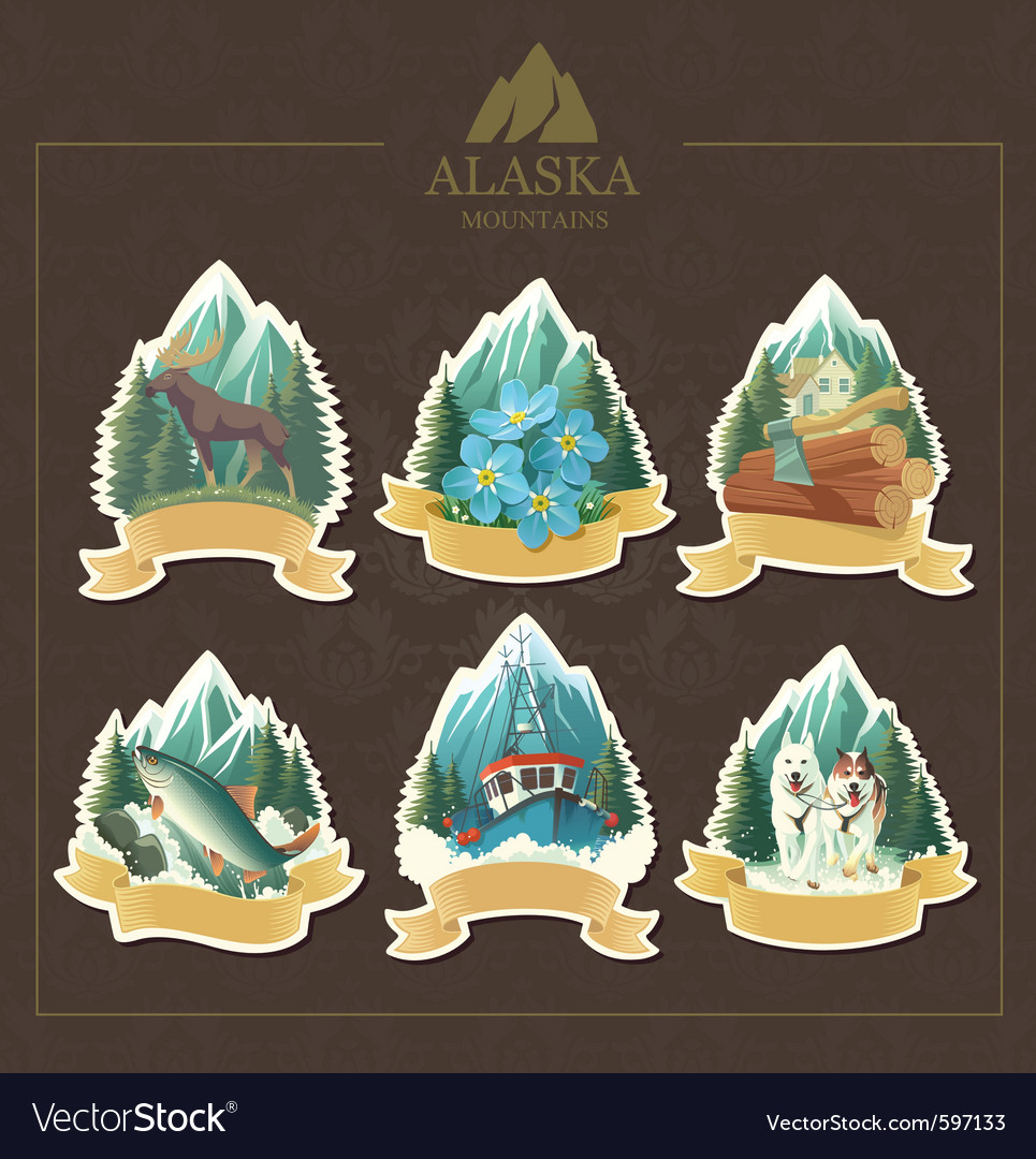 Alaska vector | Price: 3 Credit (USD $3)