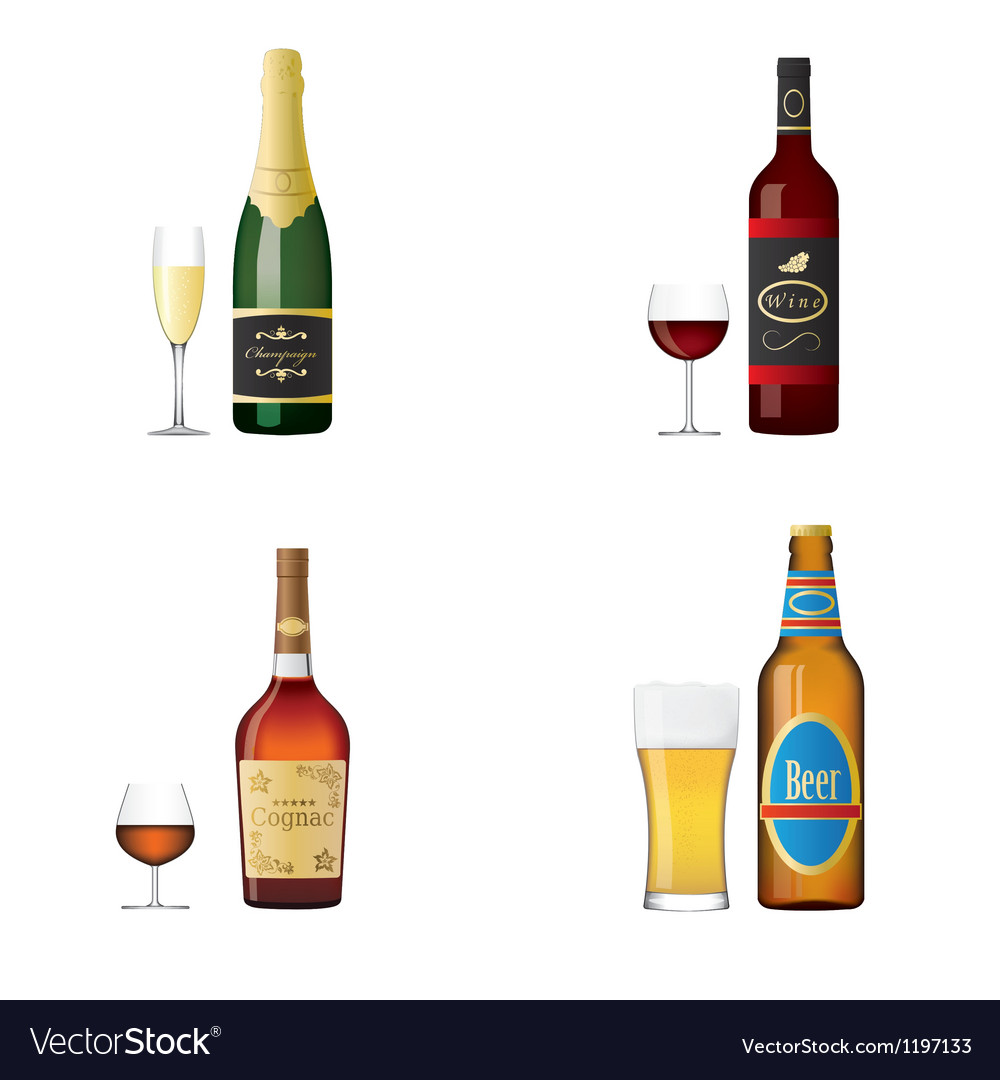 Alcohol vector | Price: 3 Credit (USD $3)