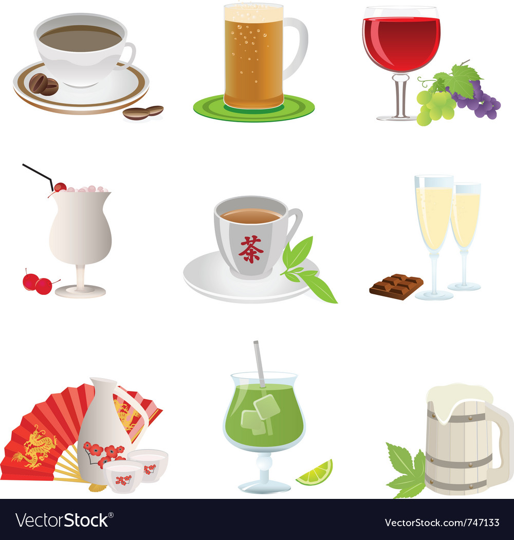 Drinks icon vector | Price: 3 Credit (USD $3)