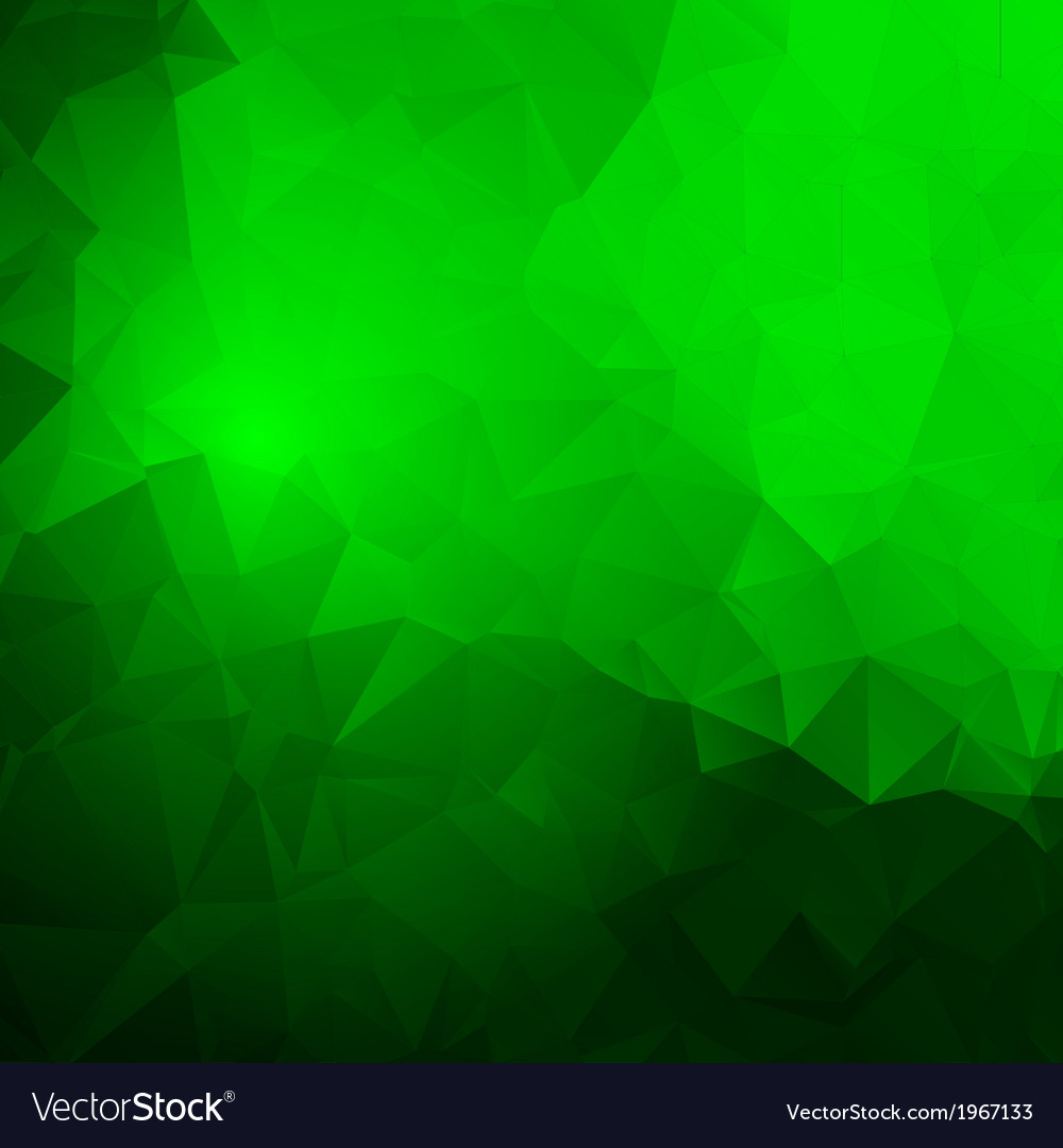 Trendy abstract green frame vector | Price: 1 Credit (USD $1)