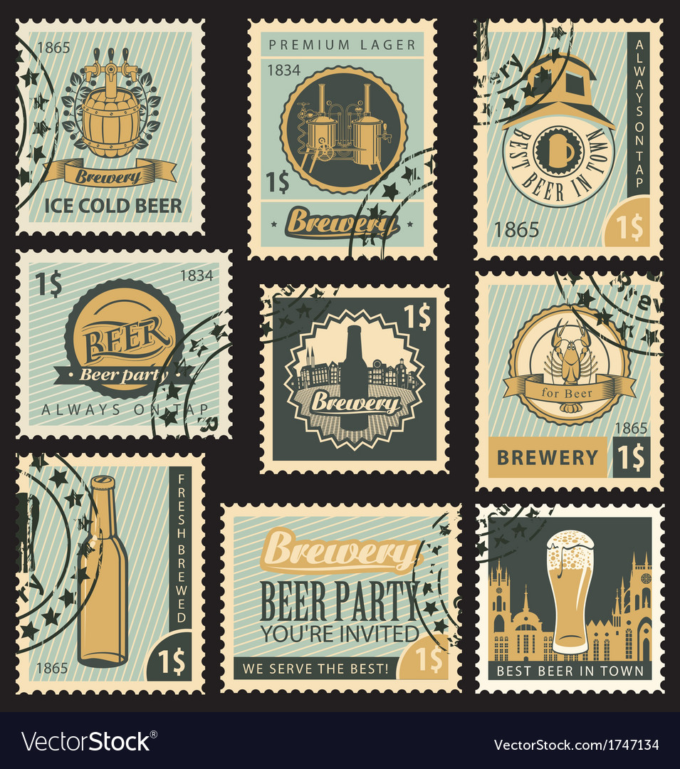 Beer and brewery vector | Price: 3 Credit (USD $3)