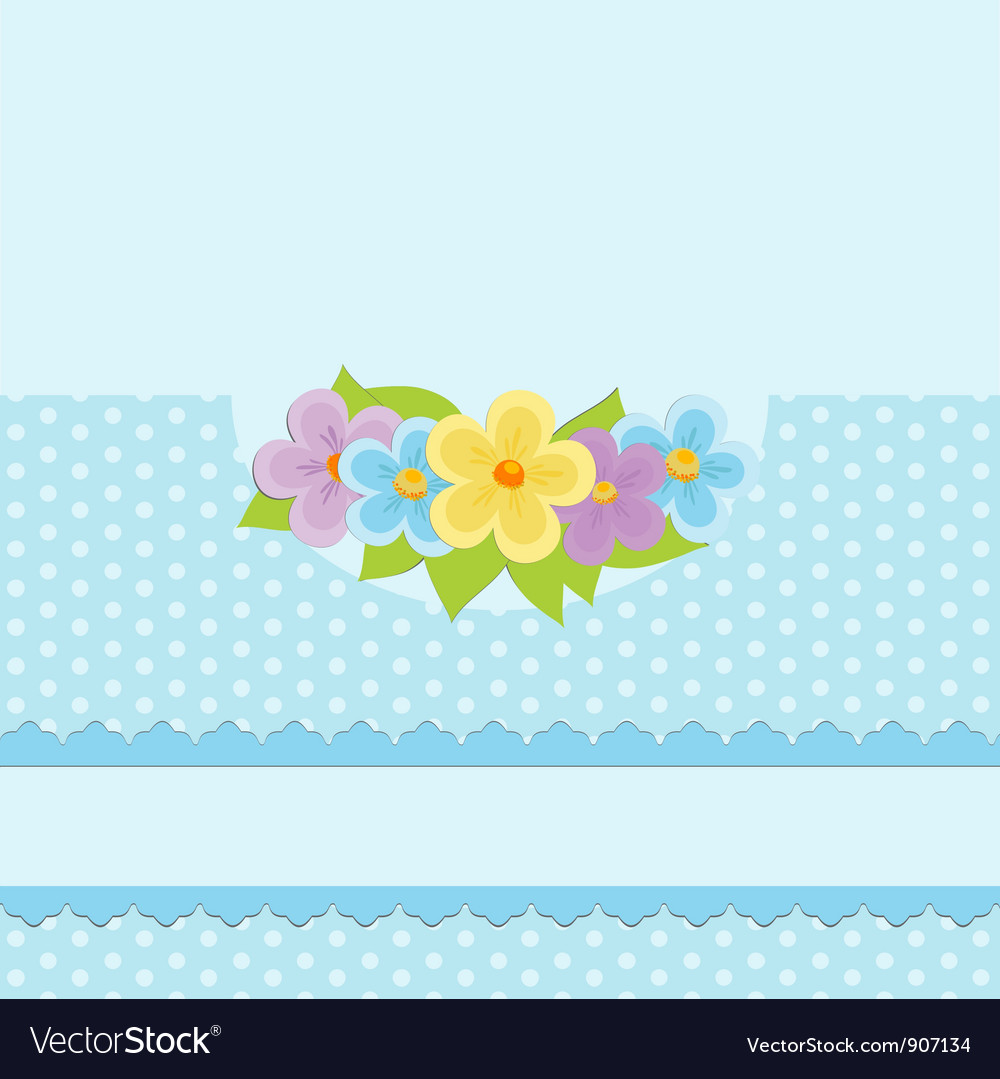 Blank background for greetings card vector   Price: 1 Credit (USD $1)