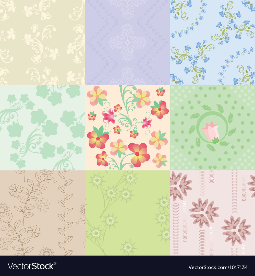 Nine pattern vector | Price: 1 Credit (USD $1)