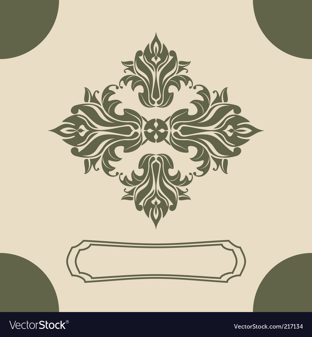 Royal design element vector | Price: 1 Credit (USD $1)