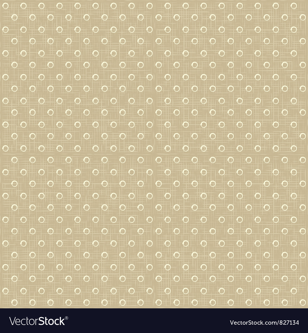 Seamless polka dots pattern vector | Price: 1 Credit (USD $1)