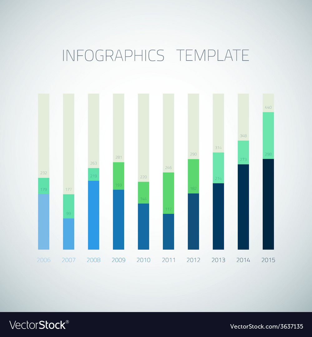 Web infographic timeline bar template layout could vector | Price: 1 Credit (USD $1)