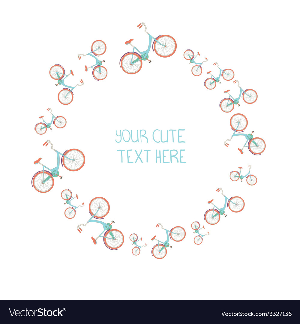 Byciclepink20 vector | Price: 1 Credit (USD $1)