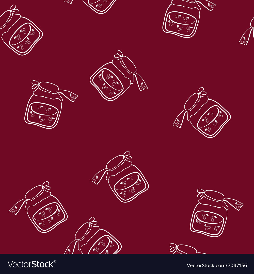 Cherry jam vector | Price: 1 Credit (USD $1)