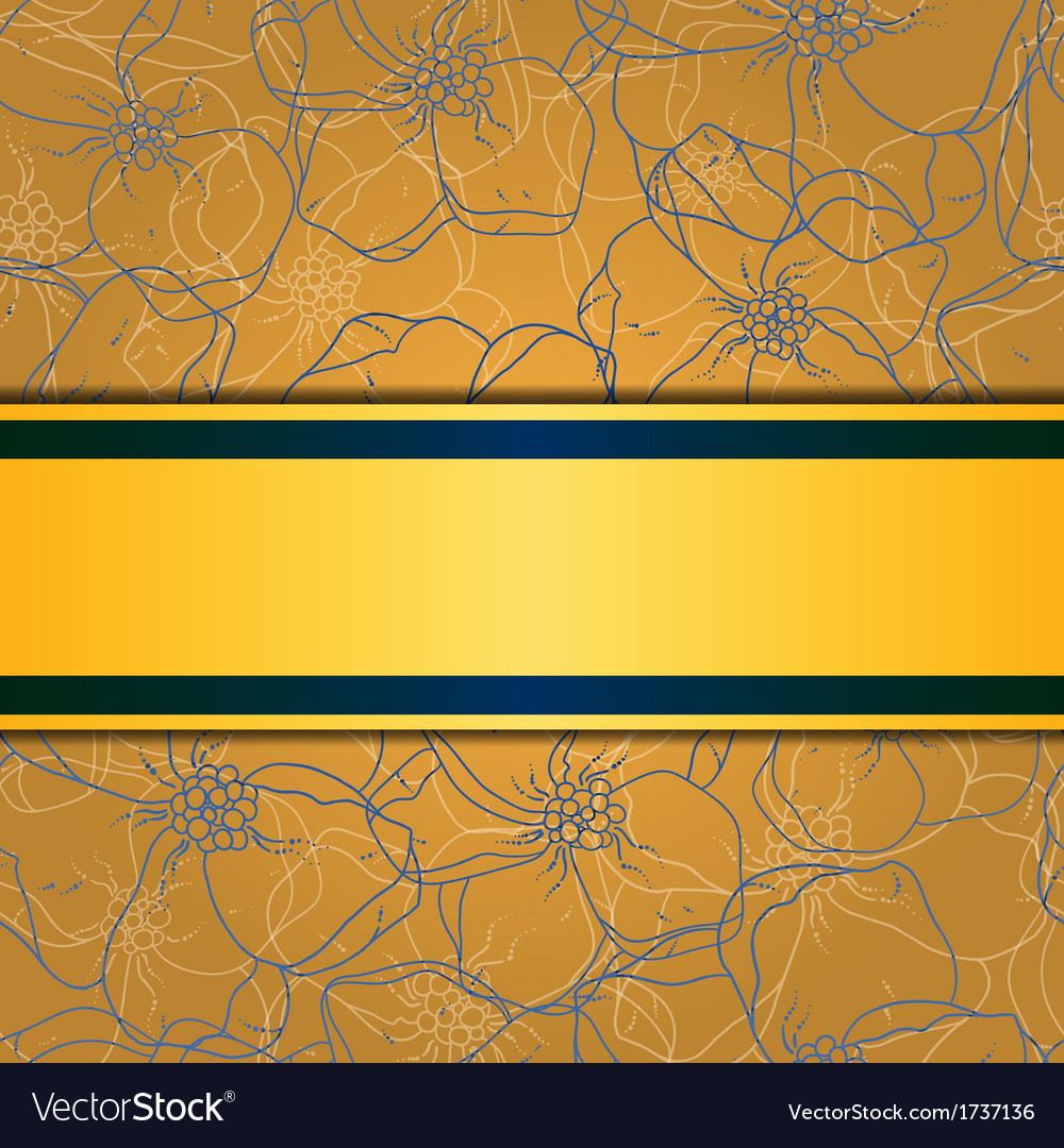 Floral and ornamental background layered vector | Price: 1 Credit (USD $1)