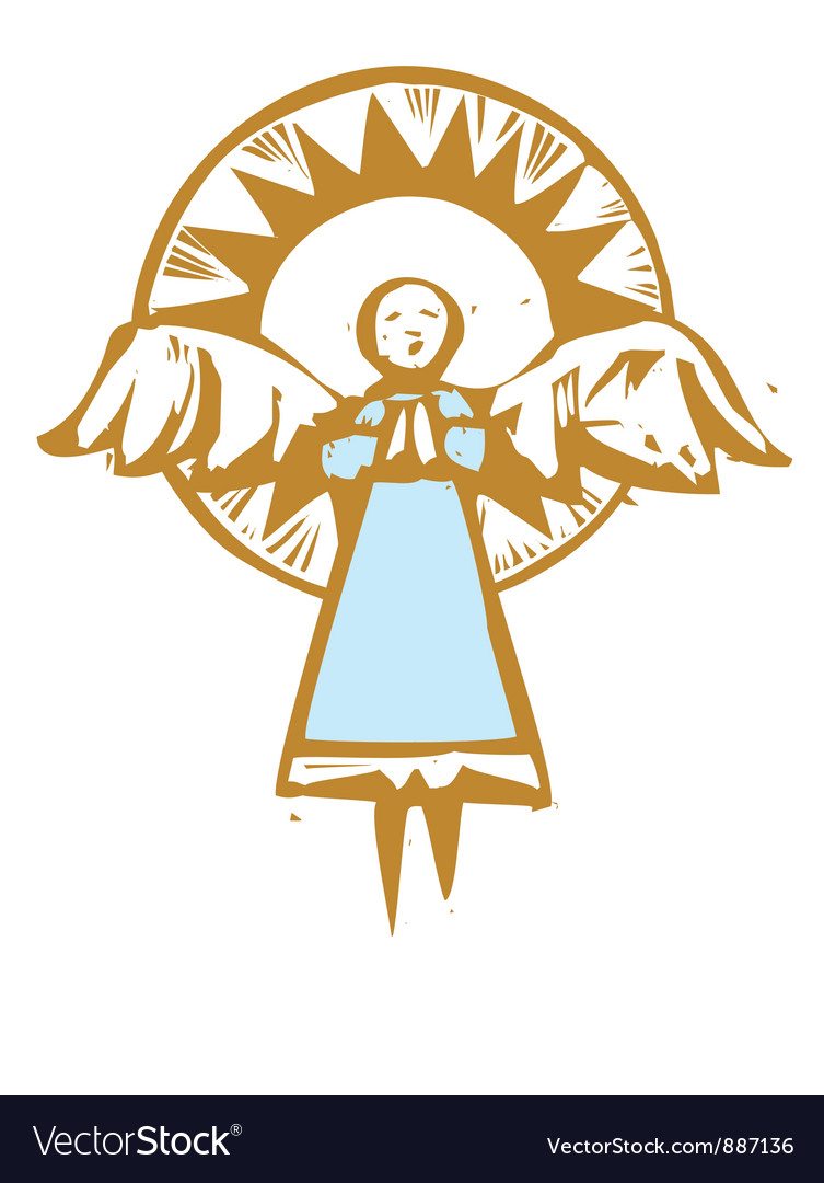 Halo angel vector | Price: 1 Credit (USD $1)