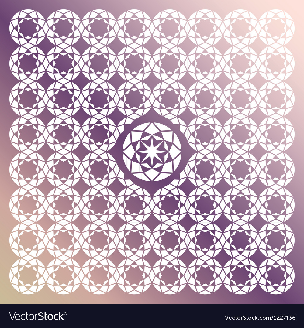 Jewel seamless pattern vector | Price: 1 Credit (USD $1)