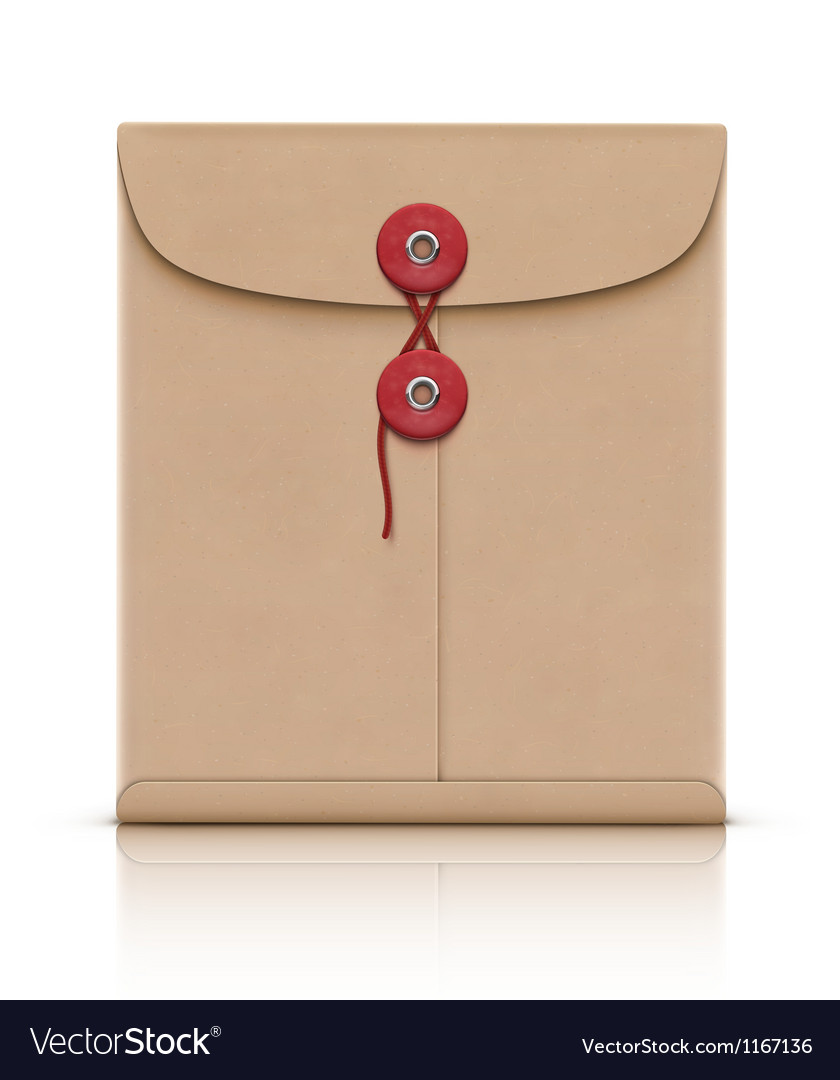 Manila envelope vector | Price: 1 Credit (USD $1)