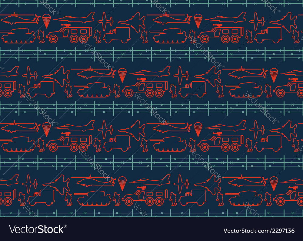 Seamless military pattern 12 vector | Price: 1 Credit (USD $1)