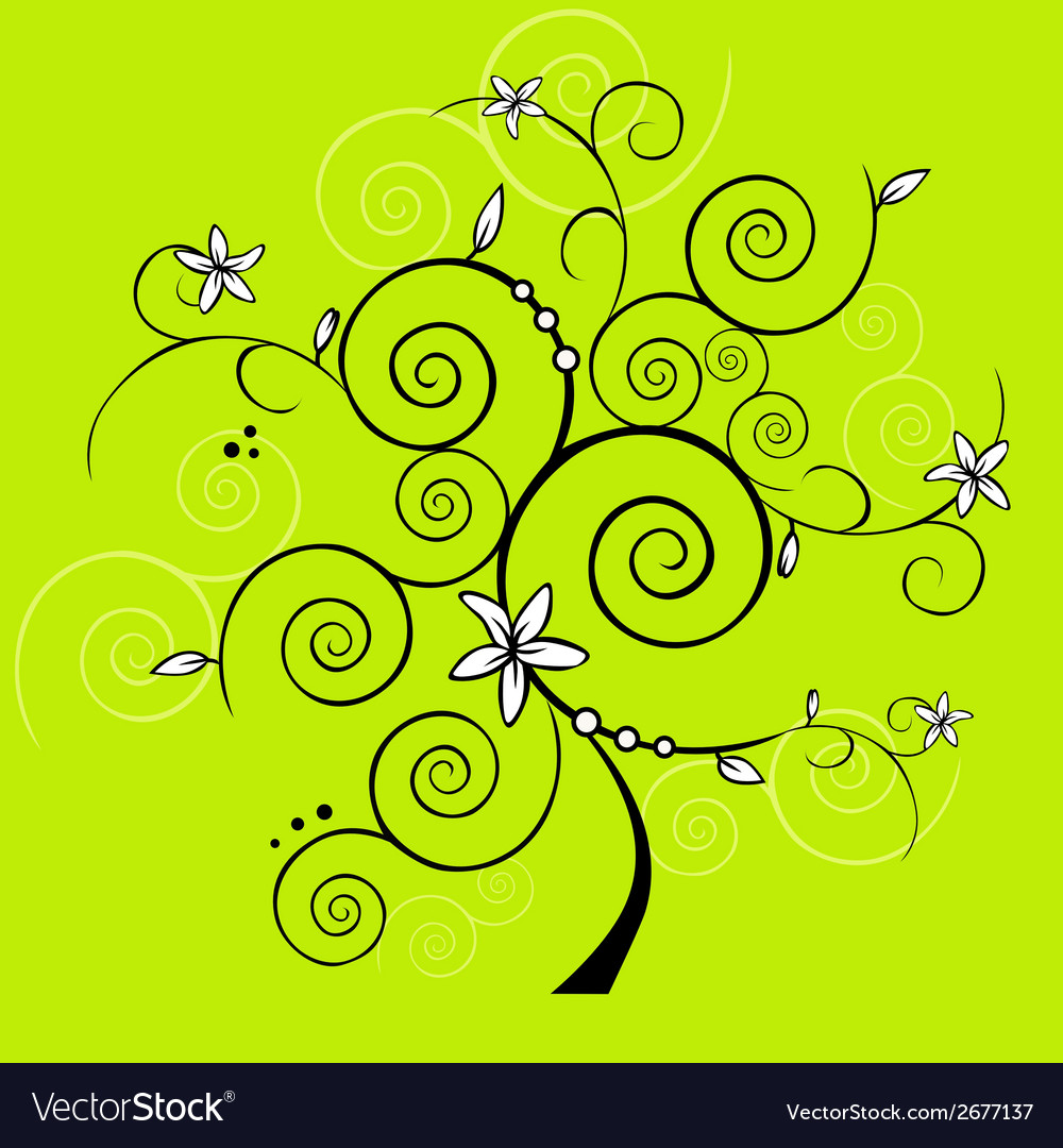 Design tree vector | Price: 1 Credit (USD $1)