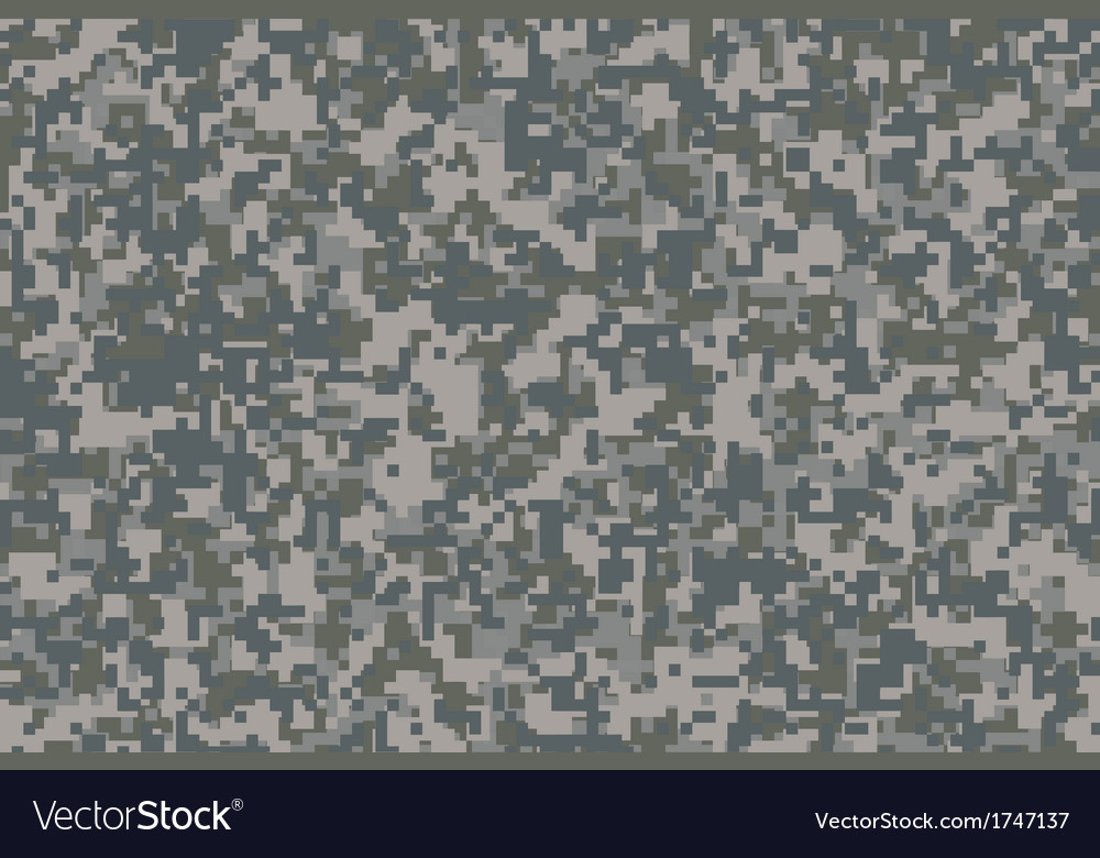 Digital camouflage vector | Price: 1 Credit (USD $1)
