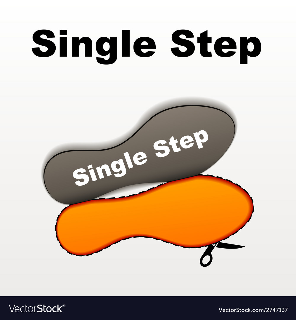 Imprint single step vector | Price: 1 Credit (USD $1)