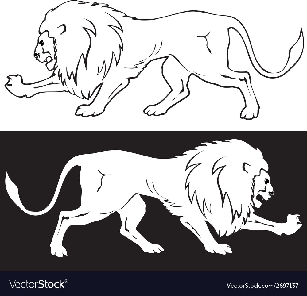 Lion3 vector | Price: 1 Credit (USD $1)