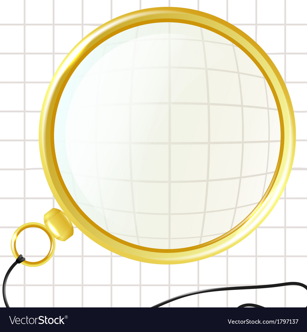 Monocle on a plaid background vector | Price: 1 Credit (USD $1)