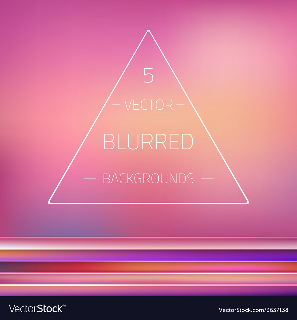 Abstract gradient mesh blurred passion 5 vector | Price: 1 Credit (USD $1)