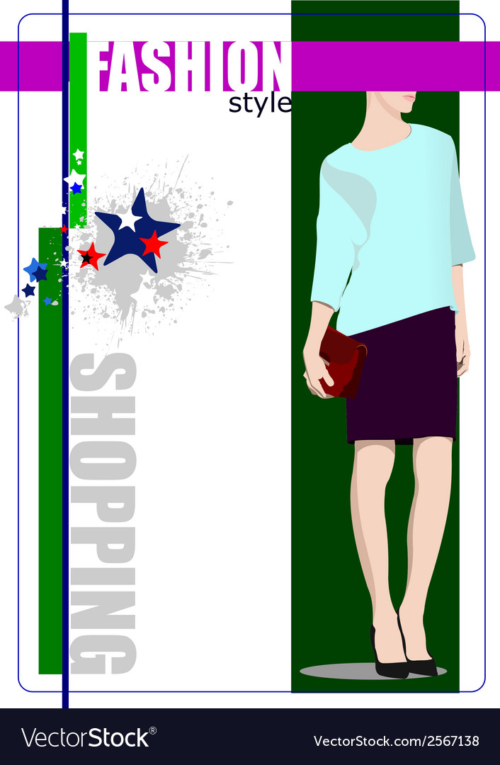 Al 0412 shopping 03 vector | Price: 1 Credit (USD $1)