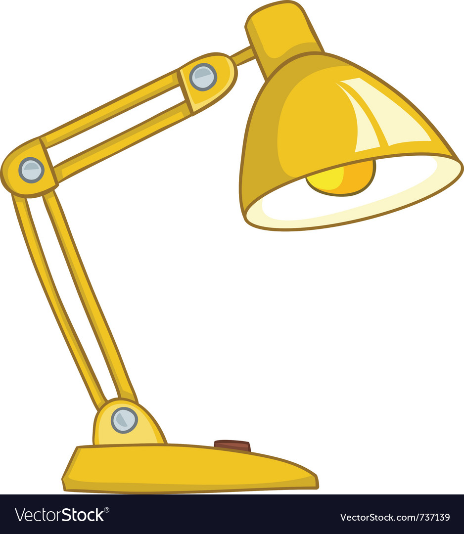 Cartoon home lamp vector | Price: 1 Credit (USD $1)