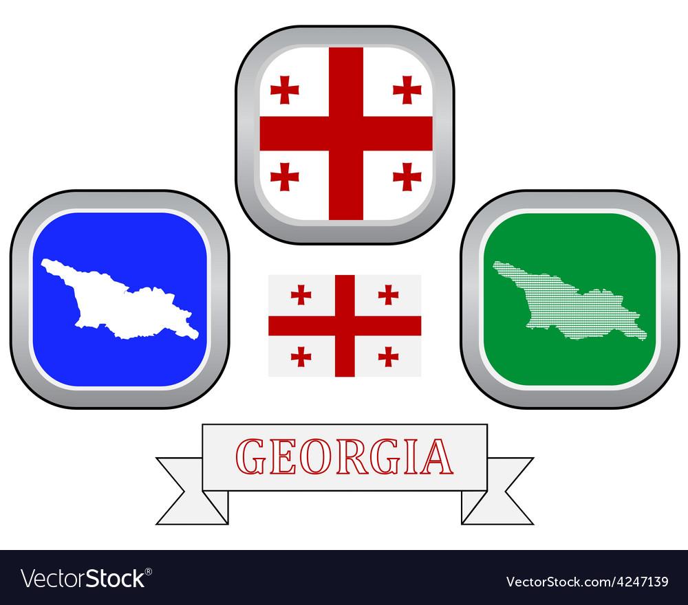 Symbol of georgia vector   Price: 1 Credit (USD $1)