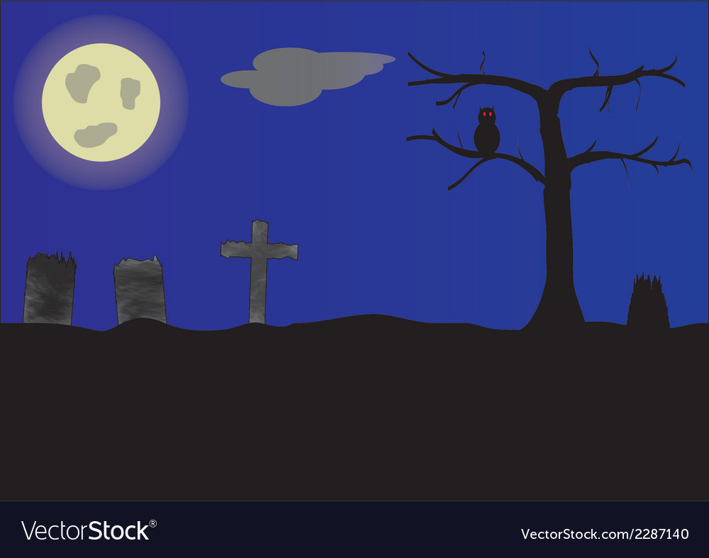 Cemetery vector | Price: 1 Credit (USD $1)