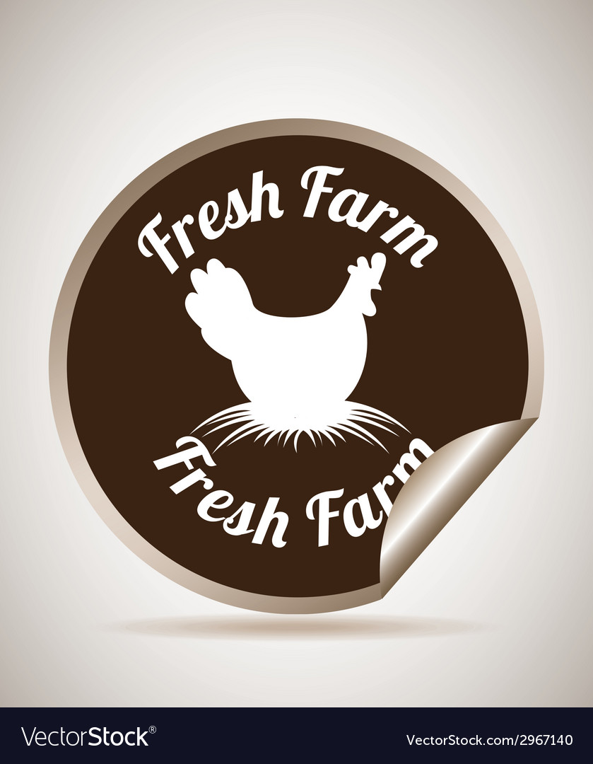 Fresh farm design vector | Price: 1 Credit (USD $1)
