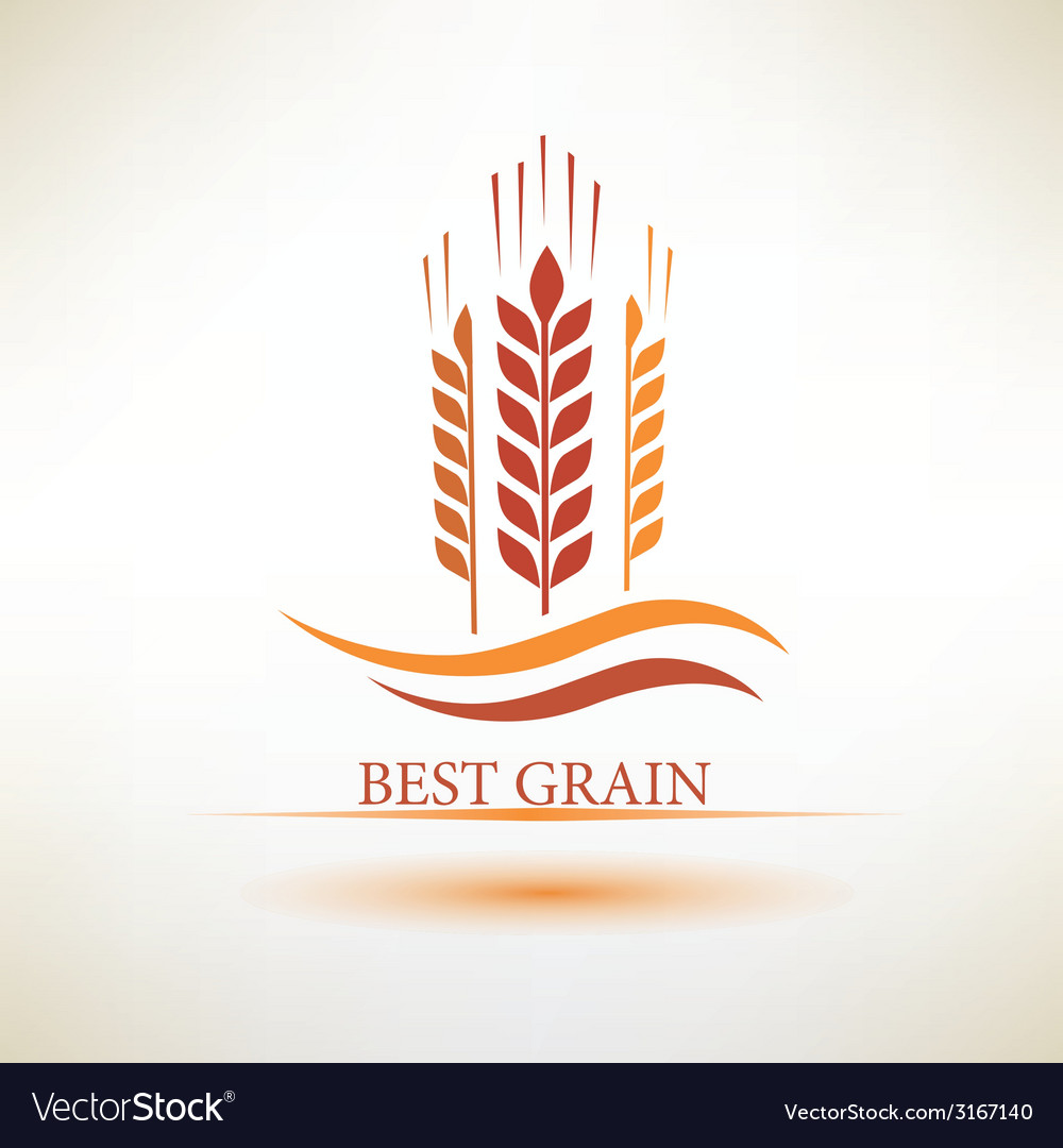 Grain symbol vector | Price: 1 Credit (USD $1)
