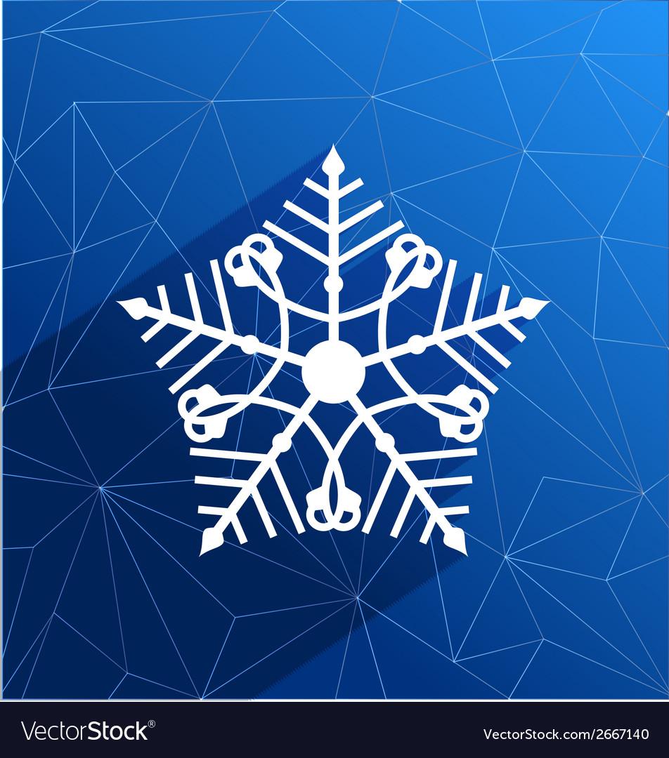 Snowflake vector | Price: 1 Credit (USD $1)