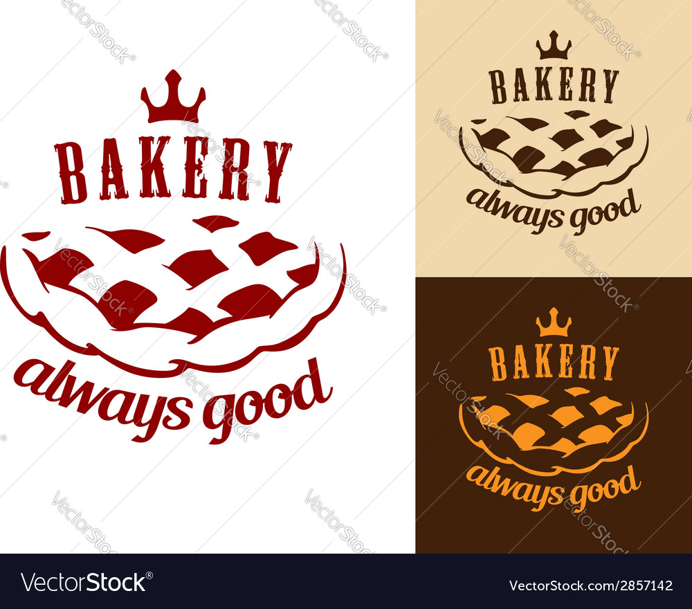 Bakery food symbol vector | Price: 1 Credit (USD $1)
