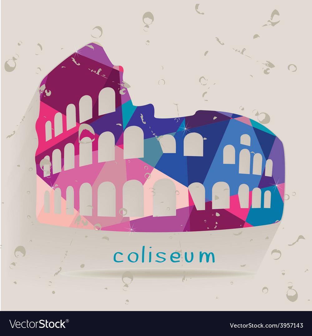 Coliseum tri vector | Price: 1 Credit (USD $1)