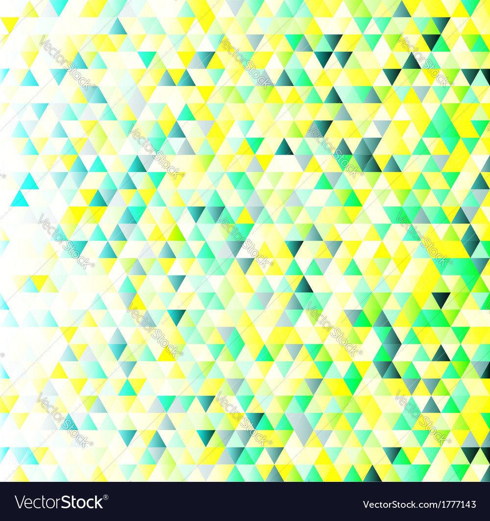 Colorful triangles geometric pattern vector | Price: 1 Credit (USD $1)