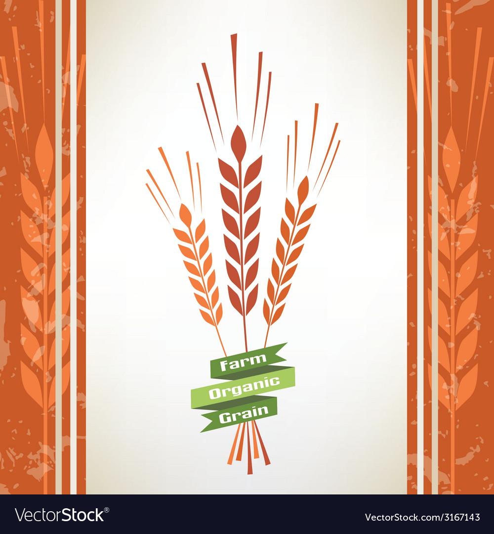 Grain symbol vector | Price: 1 Credit (USD $1)